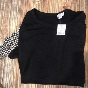 Black warm blouse